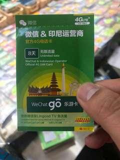印尼上網卡