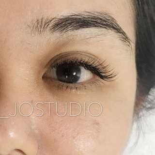 Eyelash Extensions Natural Looking