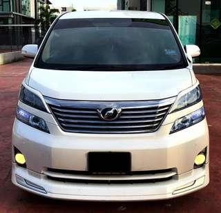 Toyota Vellfire 2.4 SAMBUNG BAYAR