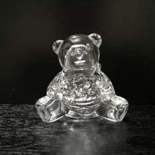 Cute crystal Teddy bear figurine
