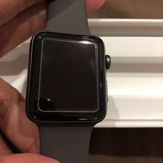 Apple watch series 3 42mm space gray - two years warranty