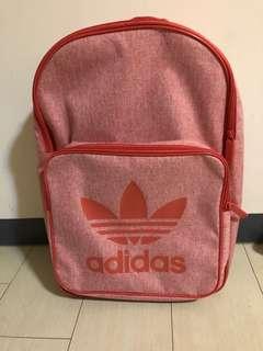🚚 愛迪達 Adidas Originals 粉磚色經典款後背包