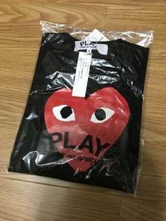 CDG PLAY T-Shirt (S)