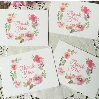 🚚 Thank you card (50 Pieces)
