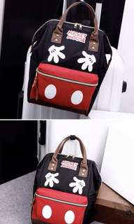 MICKEY Hand bag and Back Pack