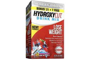 [IN-STOCK] Hydroxycut Drink Mix, Scientifically Tested Weight Loss and Energy, Weight Loss Drink, 28 Packets (68 grams)