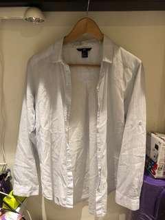 🚚 H&M新加坡購買 棉襯衫