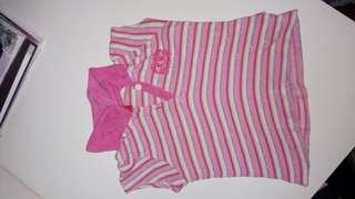 Baby pink shirt