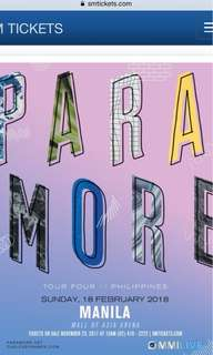 LF: Paramore Lower Box Tickets