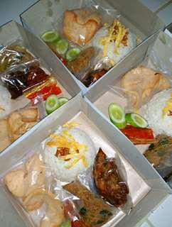 Nasi box / nasi kotak