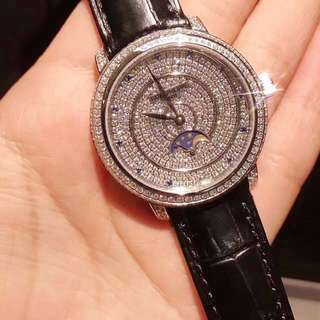 閃石手錶 Patek PP crystal automatic mechanic watch 38 cm