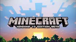 Minecraft Windows 10 PC edition