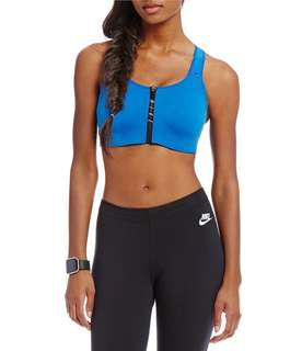 NIKE • pro zip racer back sports bra XS
