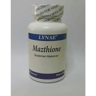 Suplemen Pemutih wajah badan mazthione