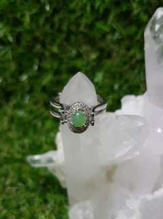 💍Ring GradeA Myanmar Jade 2in1