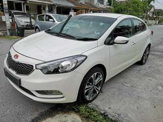 KIA CERATO 1.6 HIGH SPEC FULL SPEC 2015