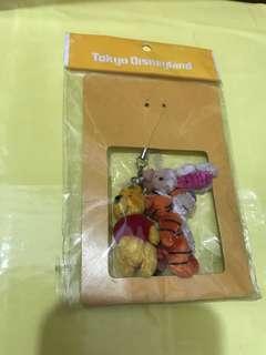 (東京迪士尼)小熊維尼電話繩 (Tokyo Disney) Winnie the Pooh Strap