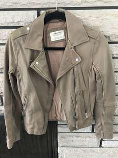 Zara leather Moto jacket