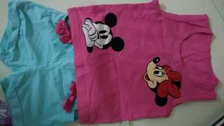 Minne Mouse Baby Shirt