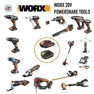 WORX 20v Battery Powershare Tools
