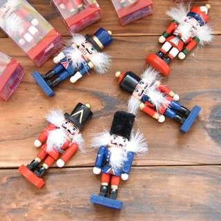 Magnet brooch Magical Nutcracker German Puppet Wooden Soldier Good Luck