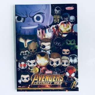BNIP Marvel Avengers Infinity Cosbaby A5 Folder