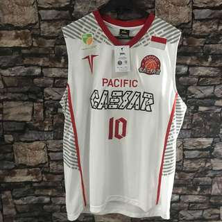 Jersey basket ibl indonesia pacific caesar david seagers m