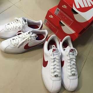 Nike Cortez 阿甘鞋 男女各一雙 全新台灣公司貨