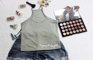 All items p65. Tops and shorts.