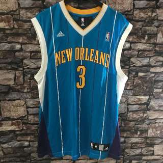 Adidas nba jersey ori new orleans chris paul sz m classic