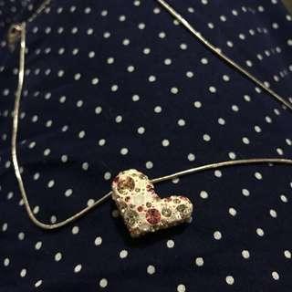 Swarovski 心形頸鍊 頸鏈