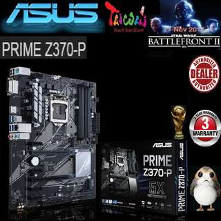 ASUS PRIME Z370-P MOTHERBOARD (3 Years Warranty)