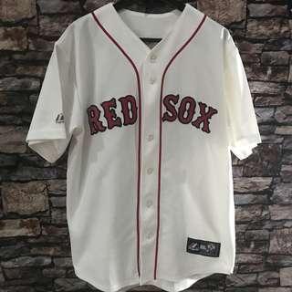 Boston red sox josh beckett mlb majestic baseball jersey