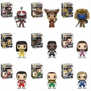Pre Order: Funko Pop Power Rangers COD Shipping Included