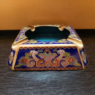 Chinese art Ashtray