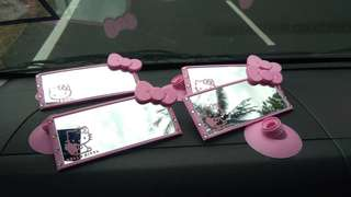 Hello kitty support mirror