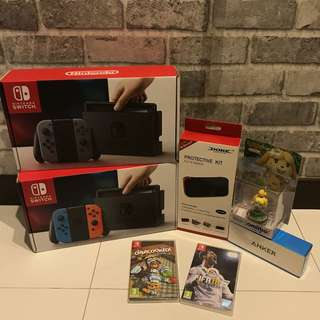 [NEW] Nintendo Switch Power Bundle (Read Description!)
