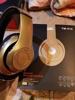 "Brand new TM-010 ""beats"" Bluetooth Headphone!!! Best value buy!!!"