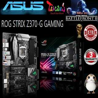 ASUS ROG Z370-G GAMING STRIX  (WI-FC AC) MB (3 Years Warranty)
