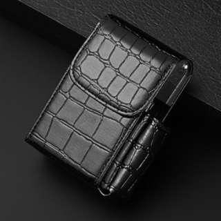 Cigarette Box Leather Cover Casing