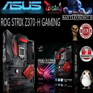 ASUS ROG Z370-H GAMING STRIX MOTHERBOARD ( 3 Years Warranty )