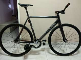 Cinelli Mash Parallax charcoal size 58 (No trading and not parting out)