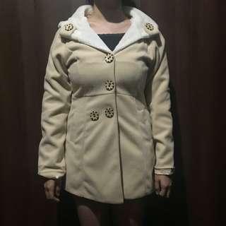 Winter Cotton Coat Dress