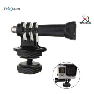 PROOCAM PRO-F206 2 Way Hot Shoe Mount adaptor converter to Camera with Screw