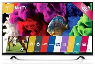LG 55 UB 8500 SMART TV 4K ULTRA and 3D