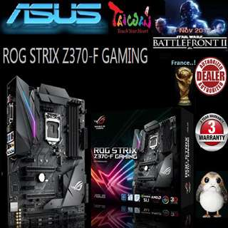 ASUS Z370-F ROG STRIX GAMING MOTHERBOARD (3 Years Warranty )