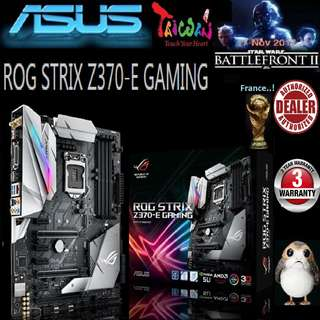 ASUS Z370-E ROG STRIX GAMING MOTHERBOARD (3 Years Warranty)