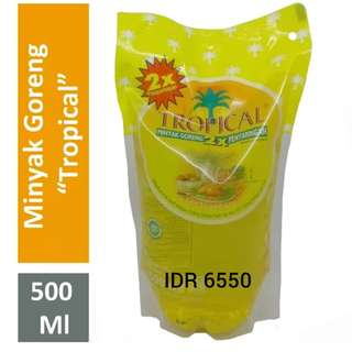 Minyak goreng Tropical 500ml