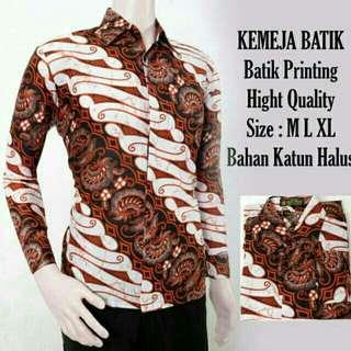 kemeja batik baju Hem kaos jaket atasan batik wanita modern
