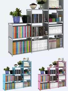 Triple Book Shelf